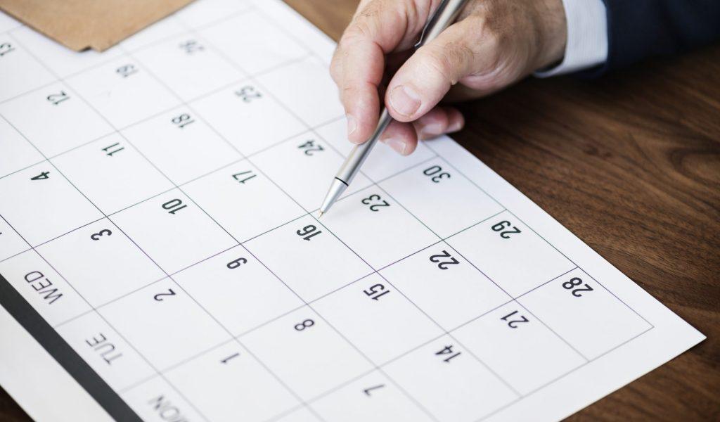 Календар на обученията по ISO
